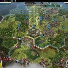Civilization 5 Into the Renaissance Celts Deity Citadel for defense
