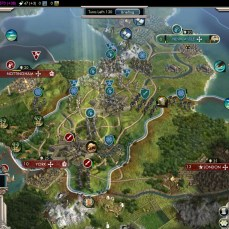Civilization 5 Into the Renaissance Celts Emperor Use Citadels offensively