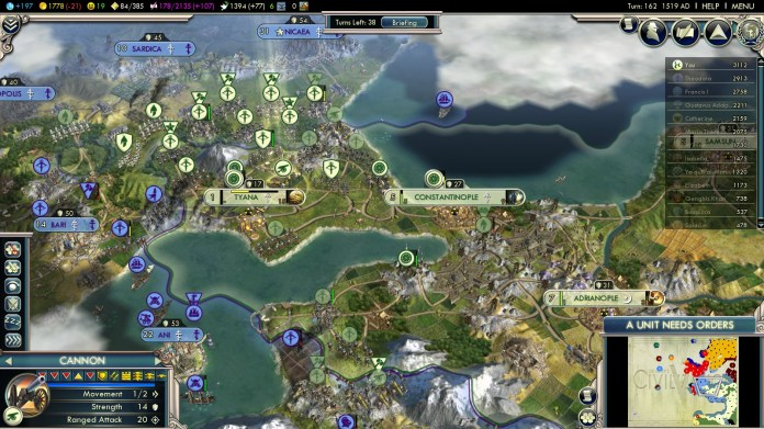 Civilization 5 Into the Renaissance Mehmet the Conqueror The Balkans