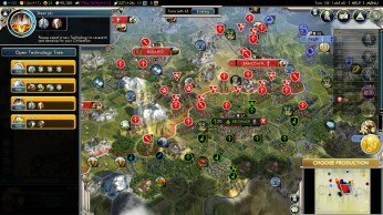 Civilization 5 Into the Renaissance Austria Deity - Siege of Belgrade
