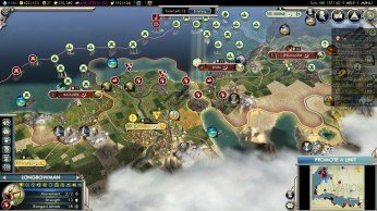 Civilization 5 Into the Renaissance England Deity Besiege Cairo