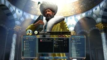 Civilization 5 Into the Renaissance England Deity Bribe Turks vs Austria