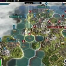 Civilization 5 Into the Renaissance England Deity Edinburgh captured