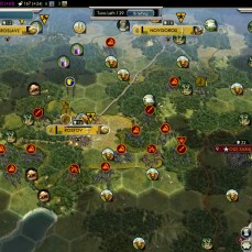 Civilization 5 Into the Renaissance Russia Deity - Fail - Overwhelmed