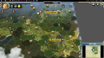 Civilization 5 Into the Renaissance Russia Deity - Fail - Blocking Mongolia