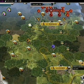 Civilization 5 Into the Renaissance Russia Deity - Fail - New Spawn Area