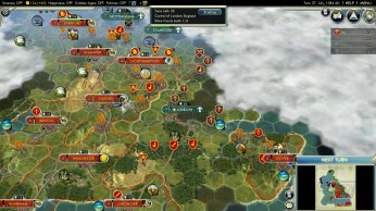 Civilization 5 Year of Viking Destiny - Normandy Deity Danish Battle for London
