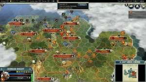 Civilization 5 Year of Viking Destiny - Normandy Deity Capture Lincoln