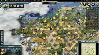 Civilization 5 Into the Renaissance Ayyubids Deity Siege of Constantinople