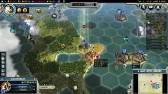 Civilization 5 Into the Renaissance Byzantium Deity Intercept Settlers
