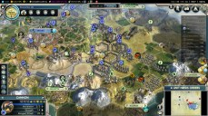 Civilization 5 Into the Renaissance Byzantium Deity Bribe all Europe vs Saladin