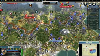 Civilization 5 Into the Renaissance Byzantium Deity Veteran Cannon Bombardment