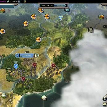 Civilization 5 Into the Renaissance France Deity Orleans blocks Spain