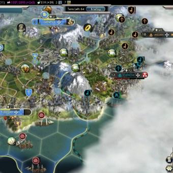 Civilization 5 Into the Renaissance France Deity Capture Geneva