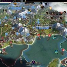Civilization 5 Into the Renaissance France Deity Toledo pass across the Alps