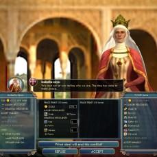 Civilization 5 Into the Renaissance France Deity Decline Peace with Spain