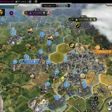 Civilization 5 Into the Renaissance France Deity Maginot Line
