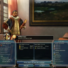 Civilization 5 Into the Renaissance France Deity Peace with the Netherlands