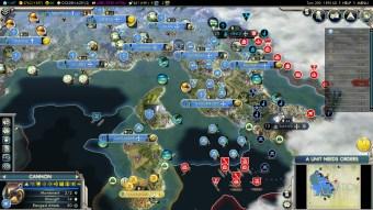 Civilization 5 Into the Renaissance France Deity French Italy