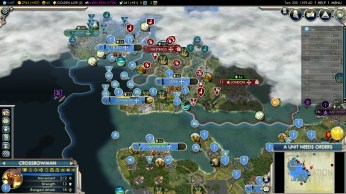 Civilization 5 Into the Renaissance France Deity French South England