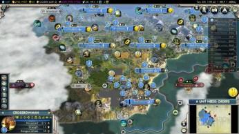 Civilization 5 Into the Renaissance France Deity French Spain