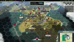 Civilization 5 Samurai Invasion of Korea China Deity Pyongyang