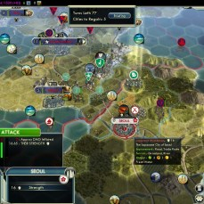 Civilization 5 Samurai Invasion of Korea Dragon Emperor Steam Achievement Liberating Seoul Turn 23