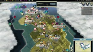 Civilization 5 Samurai Invasion of Korea Japan Deity Korea almost fallen