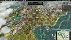 Civilization 5 Samurai Invasion of Korea Japan Deity Attack Beijing