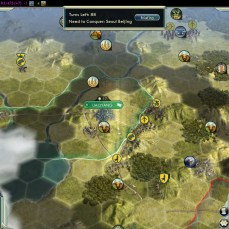 Civilization 5 Samurai Invasion of Korea Manchu Deity Fail War in turn 12