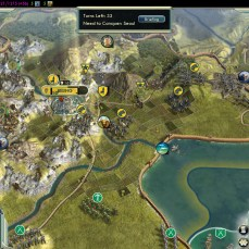 Civilization 5 Samurai Invasion of Korea Manchu Deity Fail Beijing captured