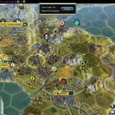 Civilization 5 Samurai Invasion of Korea Manchu Deity Korean Citadels