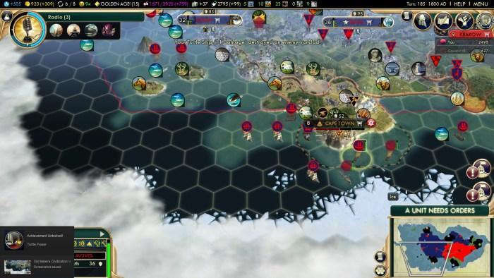 Civilization 5 Turtle Power Steam Achievement