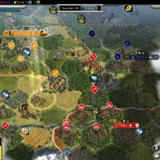 Civilization 5 Into the Renaissance Netherlands Deity fail - War with Austria