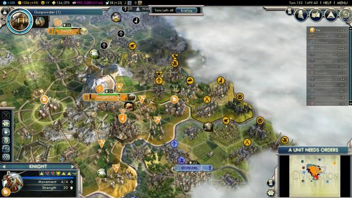 Civilization 5 Into the Renaissance Netherlands Deity - Russian Citadels