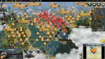 Civilization 5 Into the Renaissance Netherlands Deity Win - Dutch Adriatic Fleet