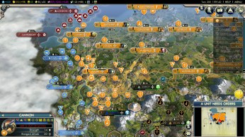Civilization 5 Into the Renaissance Netherlands Deity Win - French Conquest
