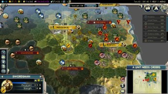 Civilization 5 Into the Renaissance Russia Deity - Mongol breakout