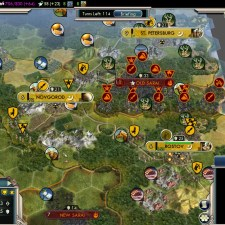 Civilization 5 Into the Renaissance Russia Deity - Peace with Mongols