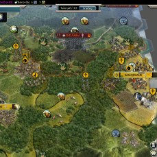 Civilization 5 Into the Renaissance Yokes on the Mongols - Contain Mongolia