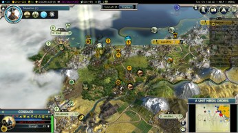 Civilization 5 Into the Renaissance Yokes on the Mongols - Conquest of Turkey