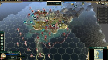 Civilization 5 Conquest of the New World Tea and Crumpets for Everyone - Attack Spain