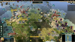 Civilization 5 Conquest of the New World Tea and Crumpets for Everyone - Land war vs Incas