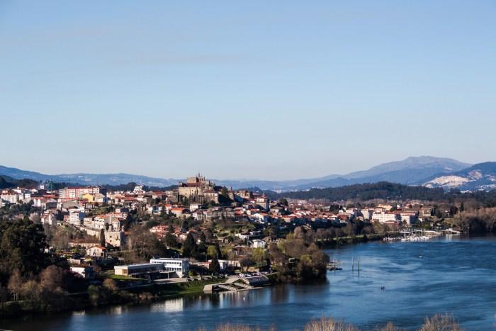 Caminho Português - View of Tui from Valencas