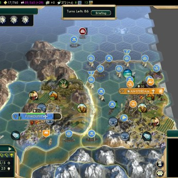 Civilization 5 Conquest of the New World France Deity - Amsterdam
