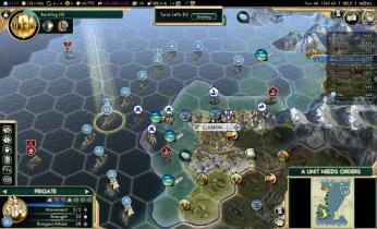 Civilization 5 Conquest of the New World France Deity - Lisbon