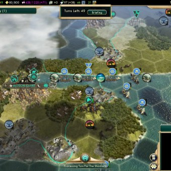 Civilization 5 Conquest of the New World France Deity - Moson Kahni
