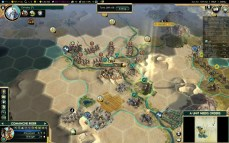 Civilization 5 Conquest of the New World Shoshone Deity - Aztec Offense