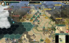 Civilization 5 Conquest of the New World Shoshone Deity - Aztec Front