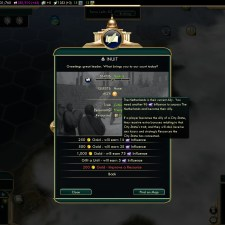 Civilization 5 Conquest of the New World Spain Deity - Ally Inuit before War